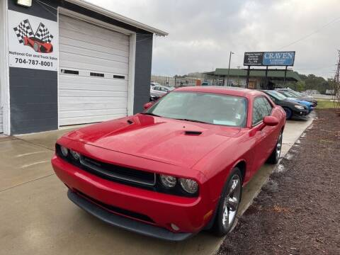2013 Dodge Challenger for sale at NATIONAL CAR AND TRUCK SALES LLC - National Car and Truck Sales in Concord NC