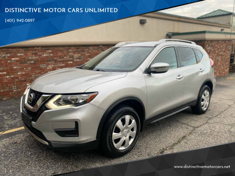 2017 Nissan Rogue for sale at DISTINCTIVE MOTOR CARS UNLIMITED in Johnston RI