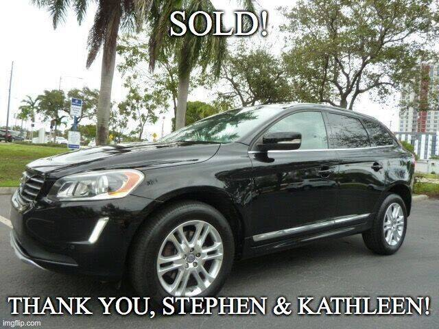 2014 Volvo XC60 for sale at VehicleVille in Fort Lauderdale FL