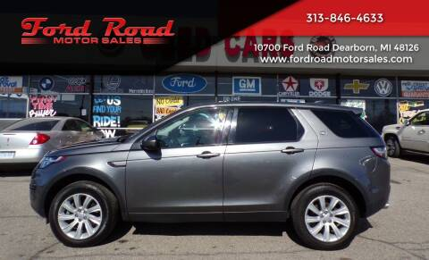 2017 Land Rover Discovery Sport for sale at Ford Road Motor Sales in Dearborn MI