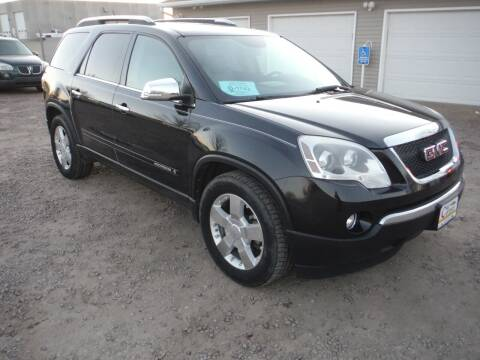 2008 GMC Acadia for sale at Car Corner in Sioux Falls SD