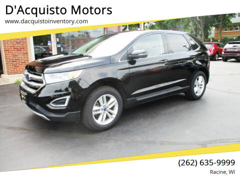 2017 Ford Edge for sale at D'Acquisto Motors in Racine WI