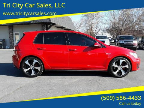 2016 Volkswagen Golf GTI for sale at Tri City Car Sales, LLC in Kennewick WA