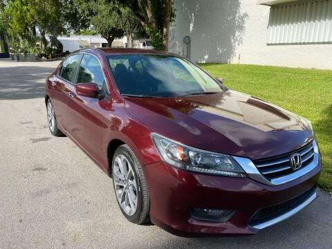 2014 Honda Accord for sale at Roadmaster Auto Sales in Pompano Beach FL