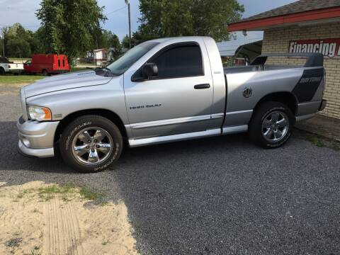 2005 Dodge Ram Pickup 1500 for sale at M&M Auto Sales 2 in Hartsville SC