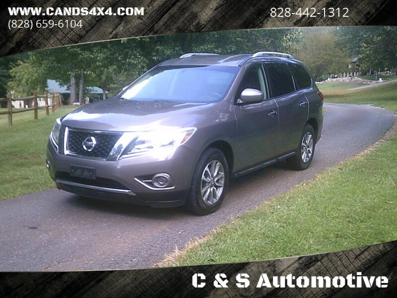 2013 Nissan Pathfinder for sale at C & S Automotive in Nebo NC