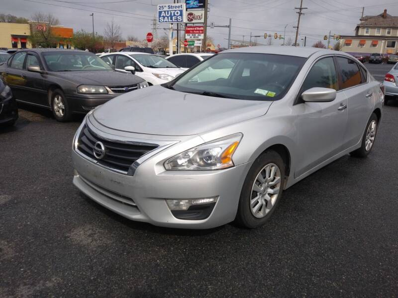2014 Nissan Altima for sale at 25TH STREET AUTO SALES in Easton PA