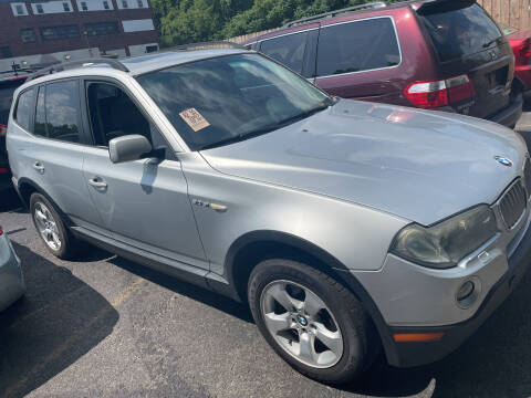 2007 BMW X3 for sale at Trocci's Auto Sales in West Pittsburg PA