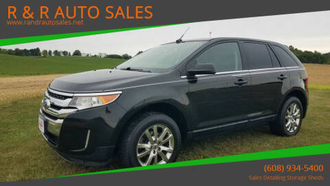2014 Ford Edge for sale at R & R AUTO SALES in Juda WI