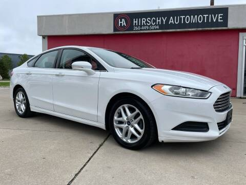 2015 Ford Fusion for sale at Hirschy Automotive in Fort Wayne IN