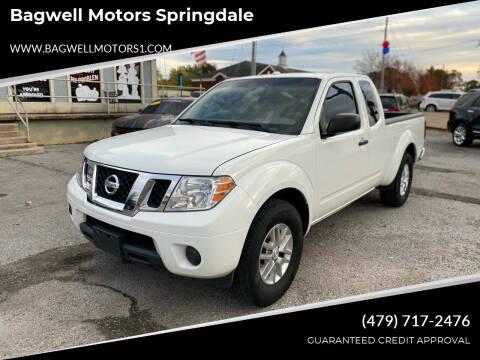 2015 Nissan Frontier for sale at Bagwell Motors Springdale in Springdale AR