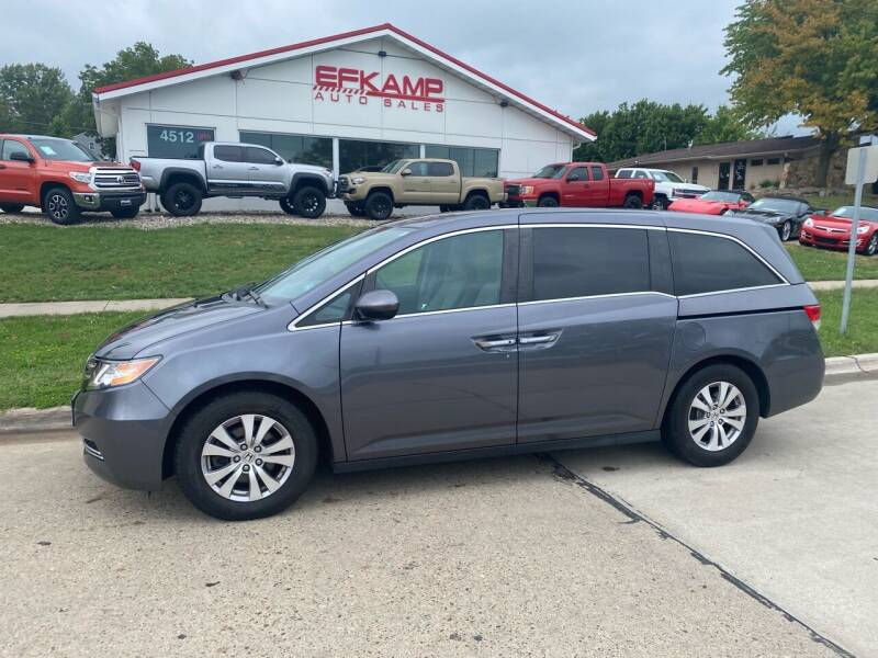 2016 Honda Odyssey for sale at Efkamp Auto Sales LLC in Des Moines IA
