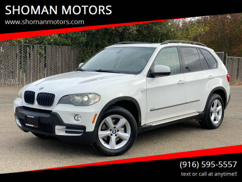 2008 BMW X5 for sale at SHOMAN MOTORS in Davis CA
