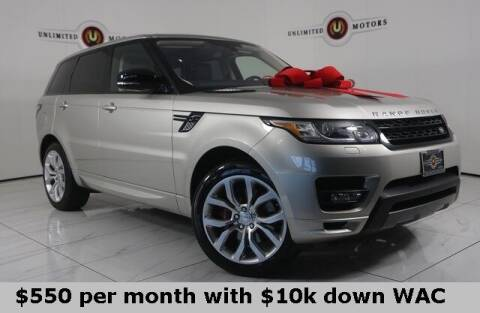 2016 Land Rover Range Rover Sport for sale at INDY'S UNLIMITED MOTORS - UNLIMITED MOTORS in Westfield IN
