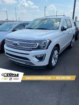 2019 Ford Expedition for sale at COYLE GM - COYLE NISSAN - New Inventory in Clarksville IN