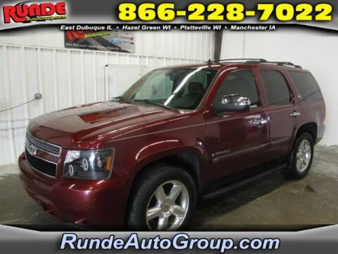 2008 Chevrolet Tahoe for sale at Runde Chevrolet in East Dubuque IL
