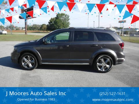 2016 Dodge Journey for sale at J Moores Auto Sales Inc in Kinston NC