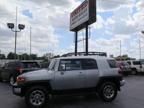 2012 Toyota FJ Cruiser for sale at United Auto Sales in Oklahoma City OK
