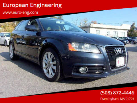 2012 Audi A3 for sale at European Engineering in Framingham MA