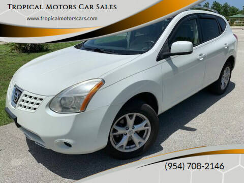 2008 Nissan Rogue for sale at Tropical Motors Car Sales in Deerfield Beach FL