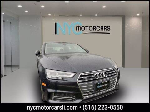 2018 Audi A4 for sale at NYC Motorcars in Freeport NY