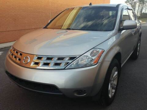2005 Nissan Murano for sale at MULTI GROUP AUTOMOTIVE in Doraville GA