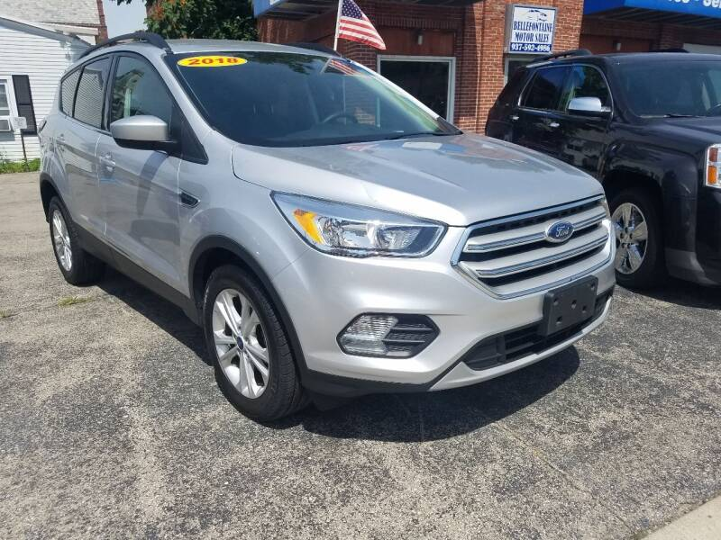 2018 Ford Escape for sale at BELLEFONTAINE MOTOR SALES in Bellefontaine OH