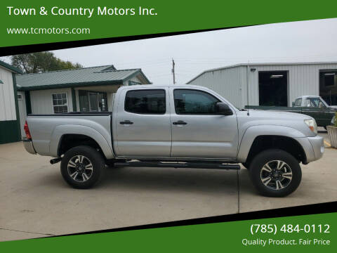 2005 Toyota Tacoma for sale at Town & Country Motors Inc. in Meriden KS