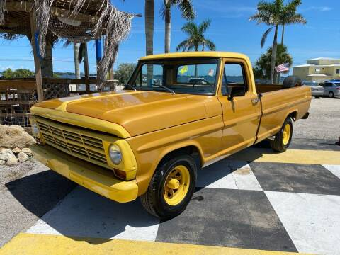 1968 Ford F-100 for sale at D&S Auto Sales, Inc in Melbourne FL
