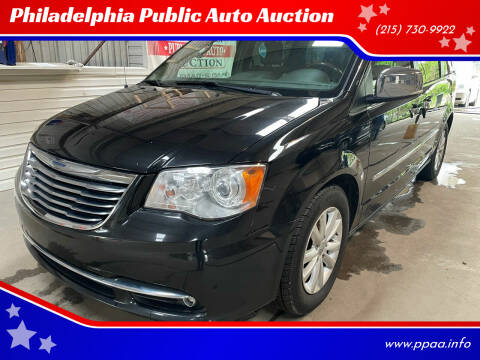 2015 Chrysler Town and Country for sale at Philadelphia Public Auto Auction in Philadelphia PA