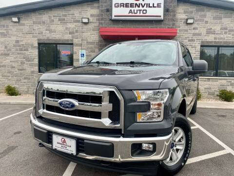 2017 Ford F-150 for sale at GREENVILLE AUTO in Greenville WI