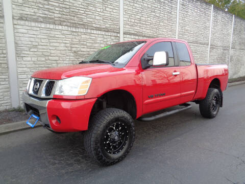 2005 Nissan Titan for sale at Matthews Motors LLC in Algona WA