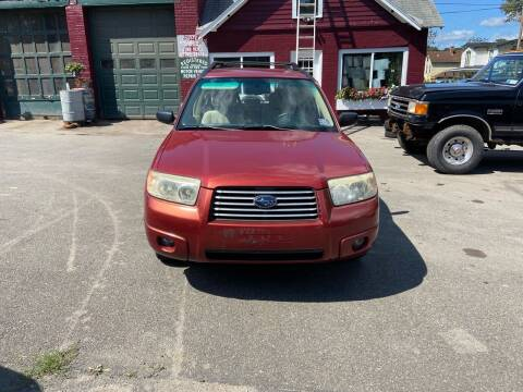 2008 Subaru Forester for sale at DPG Enterprize in Catskill NY