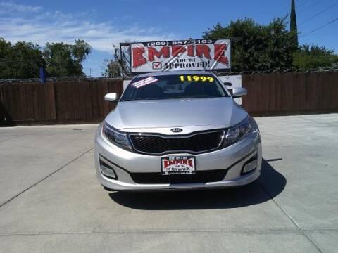 2014 Kia Optima for sale at Empire Auto Sales in Modesto CA