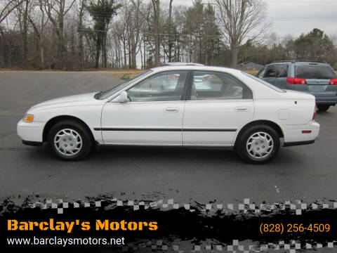 1994 Honda Accord for sale at Barclay's Motors in Conover NC