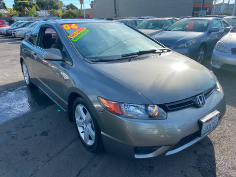 2006 Honda Civic for sale at North County Auto in Oceanside CA