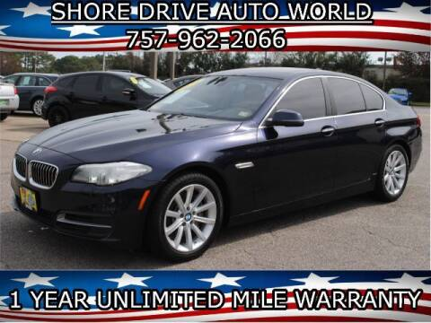 2014 BMW 5 Series for sale at Shore Drive Auto World in Virginia Beach VA