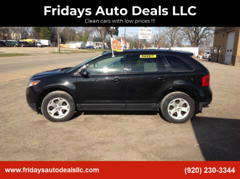 2013 Ford Edge for sale at Fridays Auto Deals LLC in Oshkosh WI