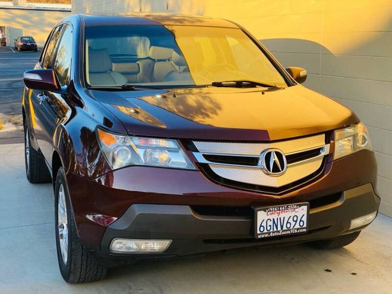 2009 Acura MDX for sale at Auto Zoom 916 in Rancho Cordova CA