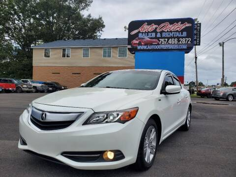 2013 Acura ILX for sale at Auto Outlet Sales and Rentals in Norfolk VA