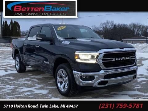 2019 RAM Ram Pickup 1500 for sale at Betten Baker Preowned Center in Twin Lake MI
