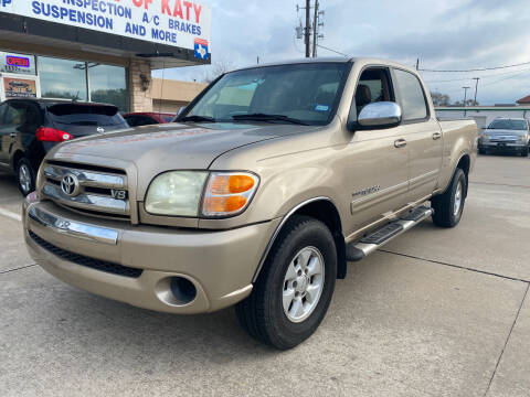 2004 Toyota Tundra for sale at Houston Auto Gallery in Katy TX