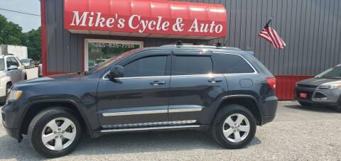 2012 Jeep Grand Cherokee for sale at MIKE'S CYCLE & AUTO in Connersville IN