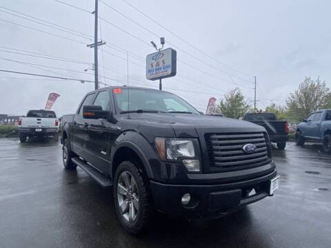 2011 Ford F-150 for sale at S&S Best Auto Sales LLC in Auburn WA
