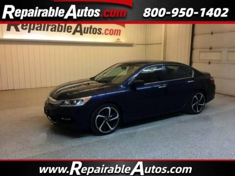 2017 Honda Accord for sale at Ken's Auto in Strasburg ND