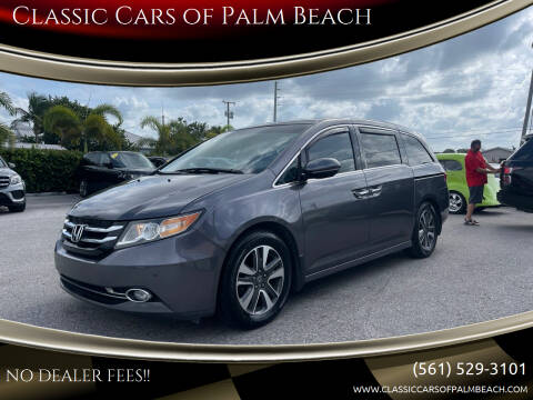 2015 Honda Odyssey for sale at Classic Cars of Palm Beach in Jupiter FL
