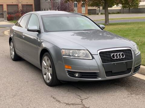 2007 Audi A6 for sale at A.I. Monroe Auto Sales in Bountiful UT
