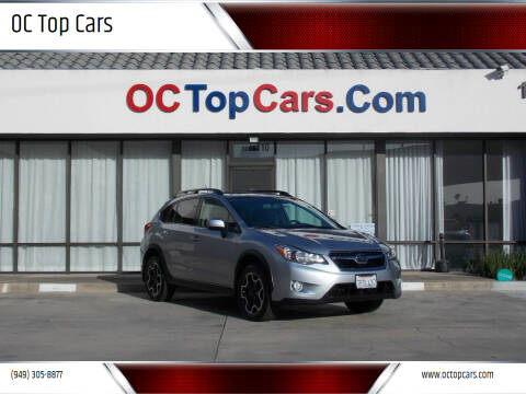 2014 Subaru XV Crosstrek for sale at OC Top Cars in Irvine CA