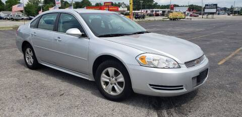 2012 Chevrolet Impala for sale at speedy auto sales in Indianapolis IN