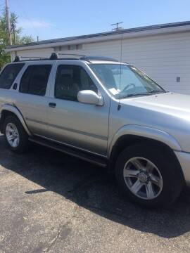 2002 Nissan Pathfinder for sale at Mike Hunter Auto Sales in Terre Haute IN